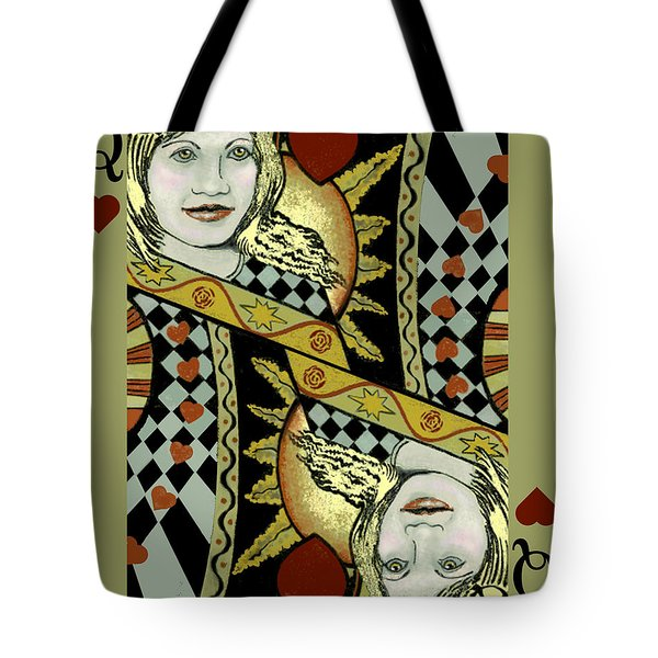Queen's Card II Tote Bag