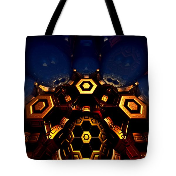 Queen's Chamber Tote Bag