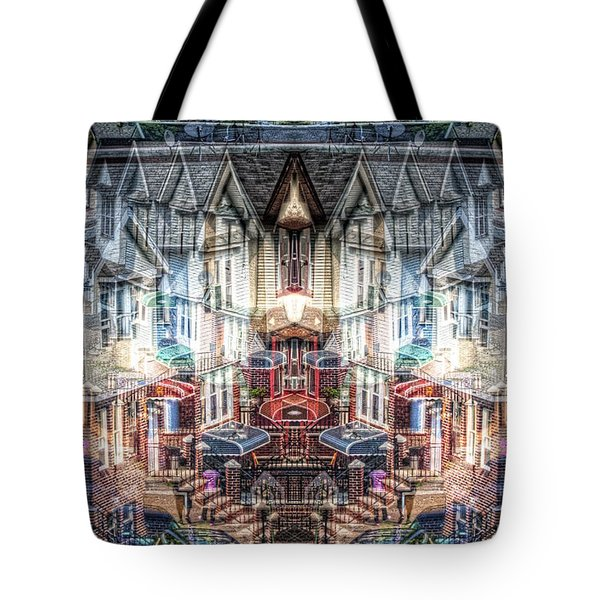 Queens Palindrome Houses Tote Bag
