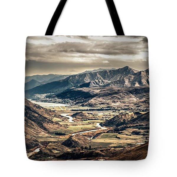 Queenstown View Tote Bag