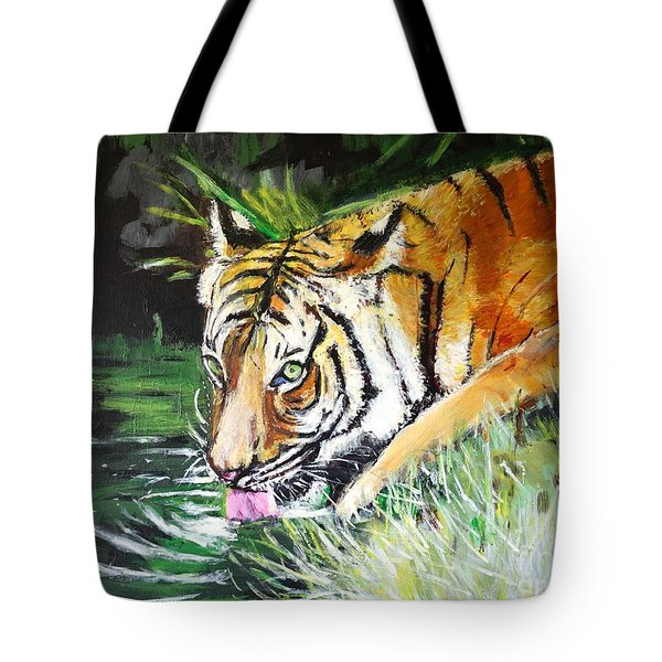 Quench Tote Bag by Judy Kay