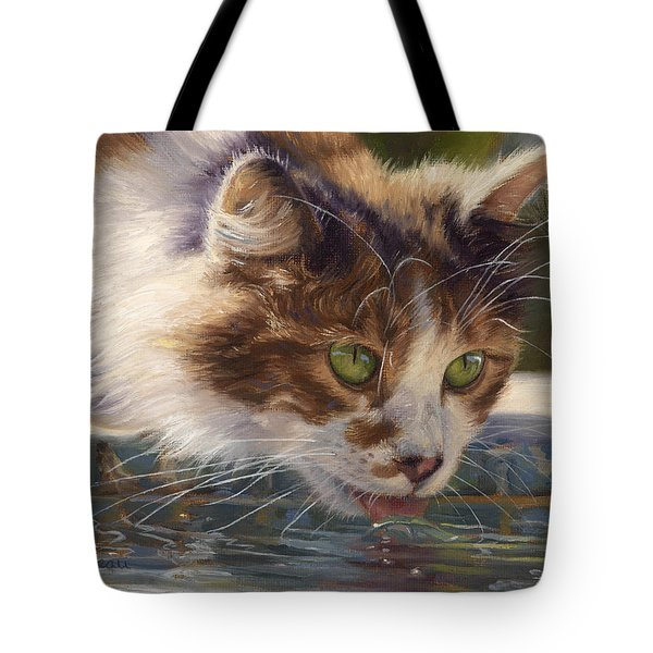Quenching Her Thirst Tote Bag