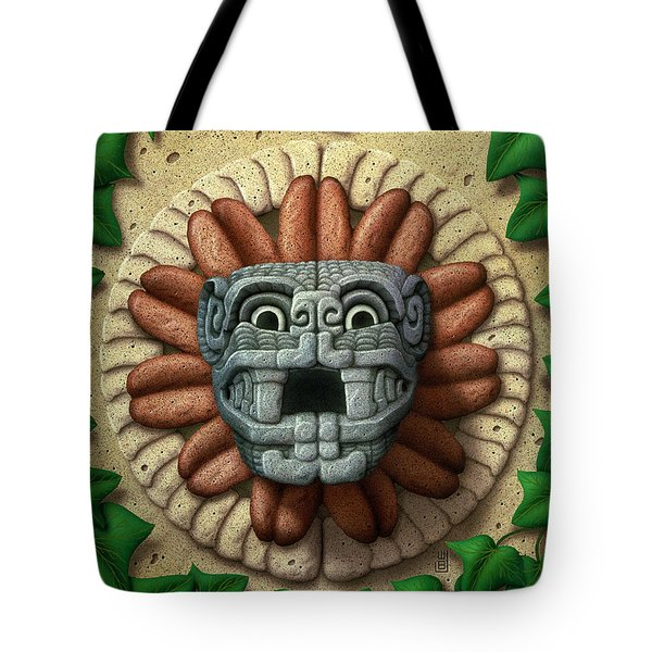 Quetzalcoatl Tote Bag by WB Johnston