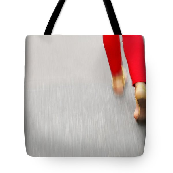 Quick Step Tote Bag by Karol Livote
