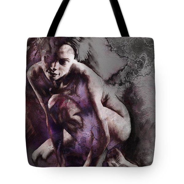 Quiescent With Texture Tote Bag
