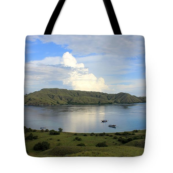 Tote Bag featuring the photograph Quiet Bay by Sergey Lukashin