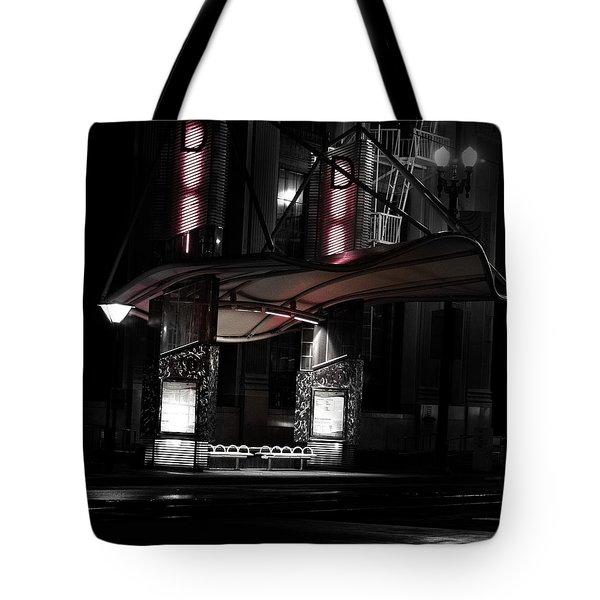 Quiet City Tote Bag