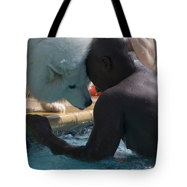 Quiet Conversation 2 Tote Bag