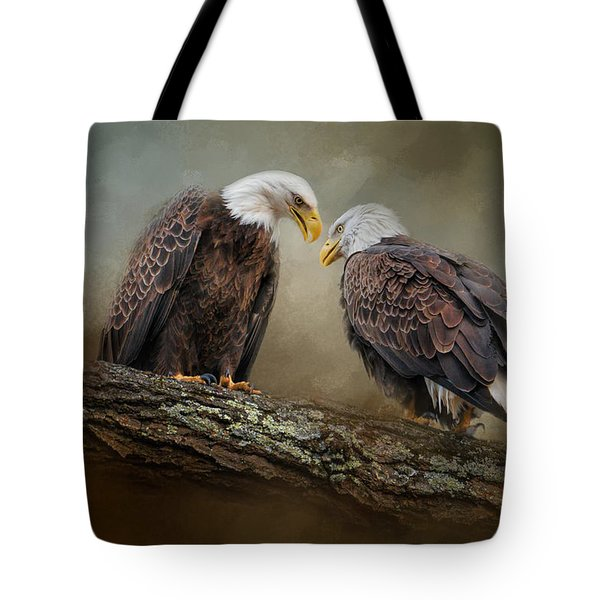 Quiet Conversation Tote Bag