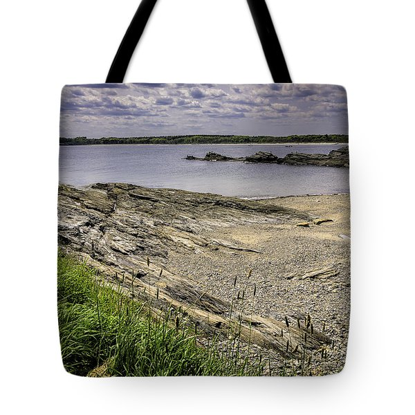 Tote Bag featuring the photograph Quiet Cove by Mark Myhaver