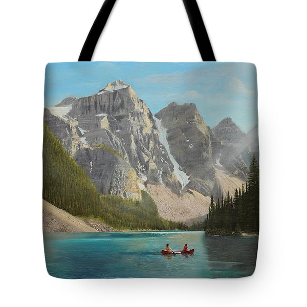 Quiet Day Tote Bag