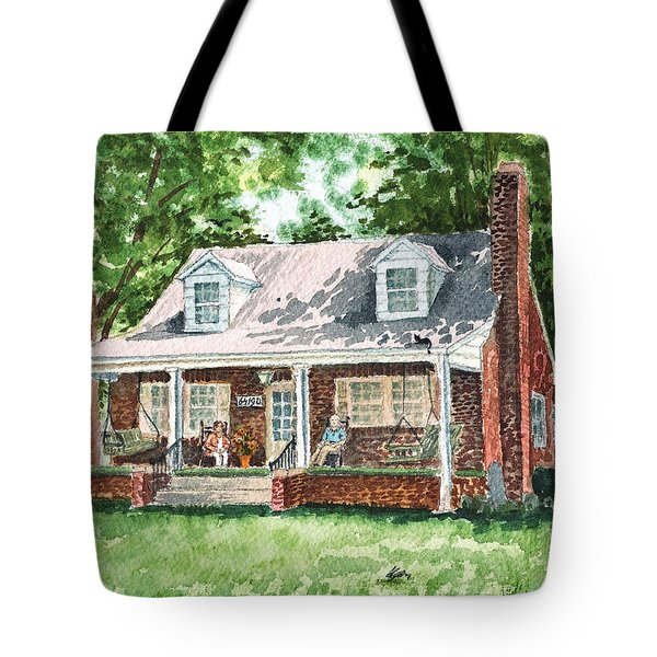 Quiet East Coast Summer Day Honey Look There Is A Rabbit Tote Bag