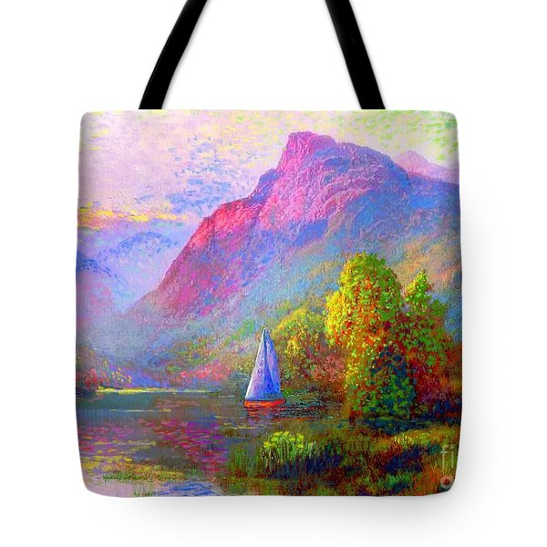 Sailing Into A Quiet Haven Tote Bag