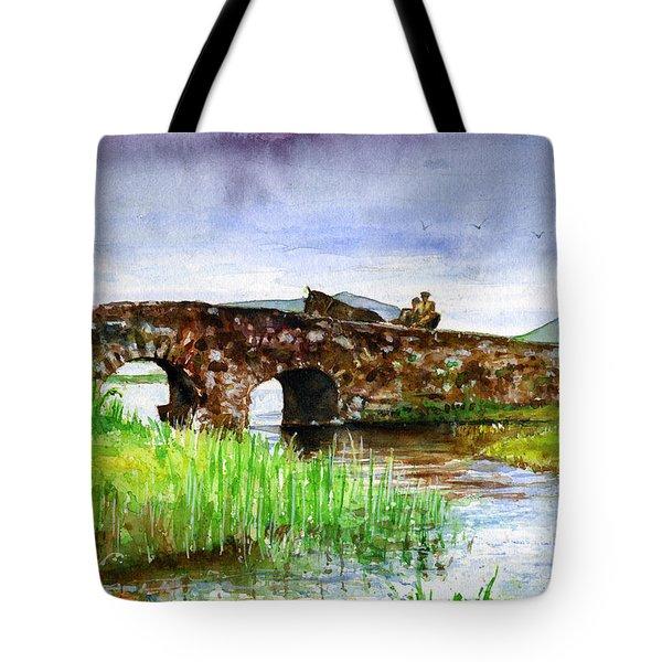 Quiet Man Bridge Ireland Tote Bag