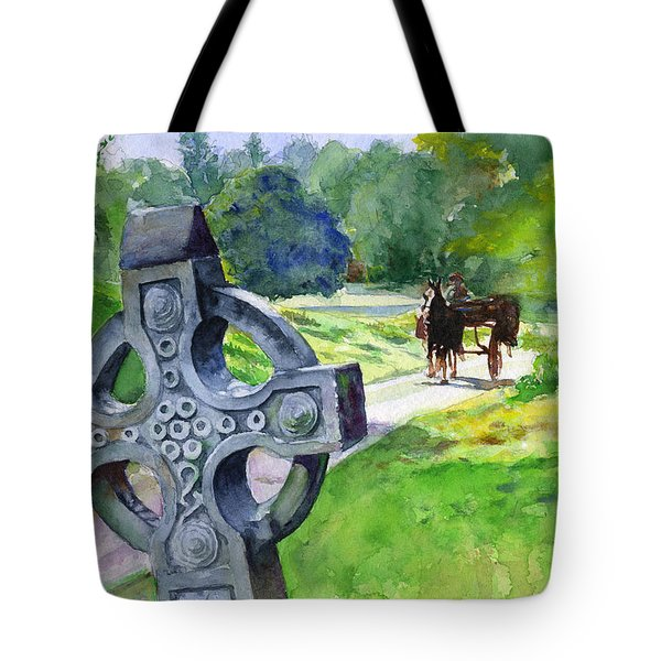 Quiet Man Watercolor 2 Tote Bag