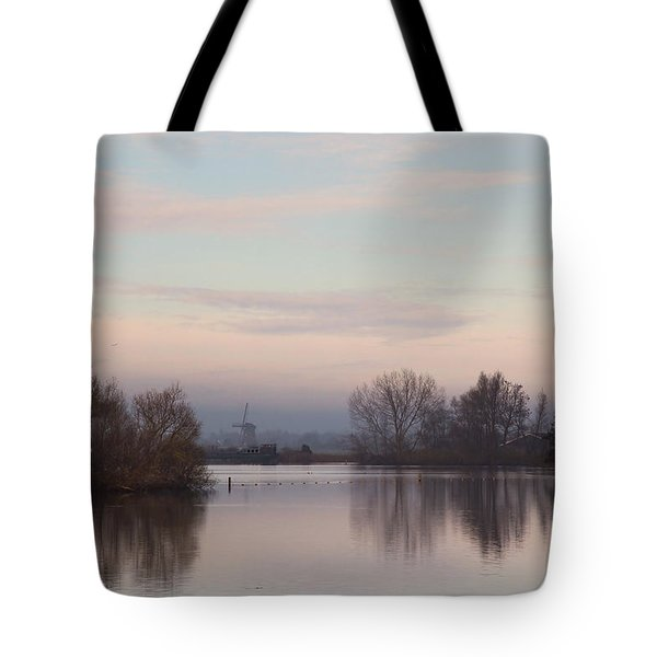 Quiet Morning Tote Bag