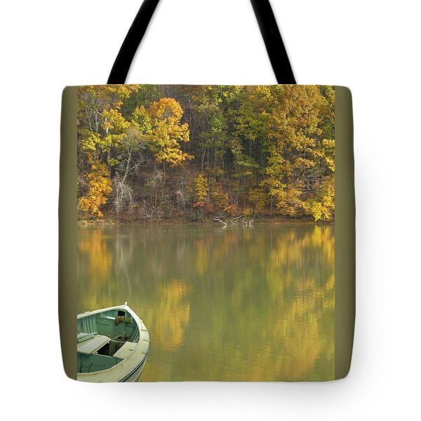 Quiet Pond Tote Bag