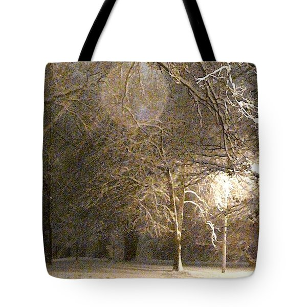 Quiet Road Tote Bag