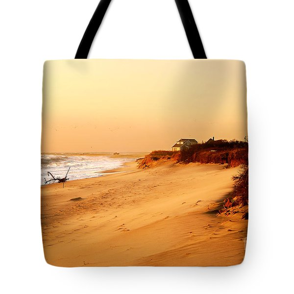 Quiet Summer Sunset Tote Bag