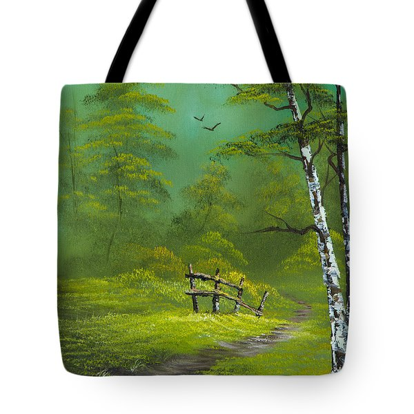 Quiet Trail Tote Bag by C Steele