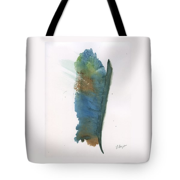 Tote Bag featuring the painting Quill by Frank Bright