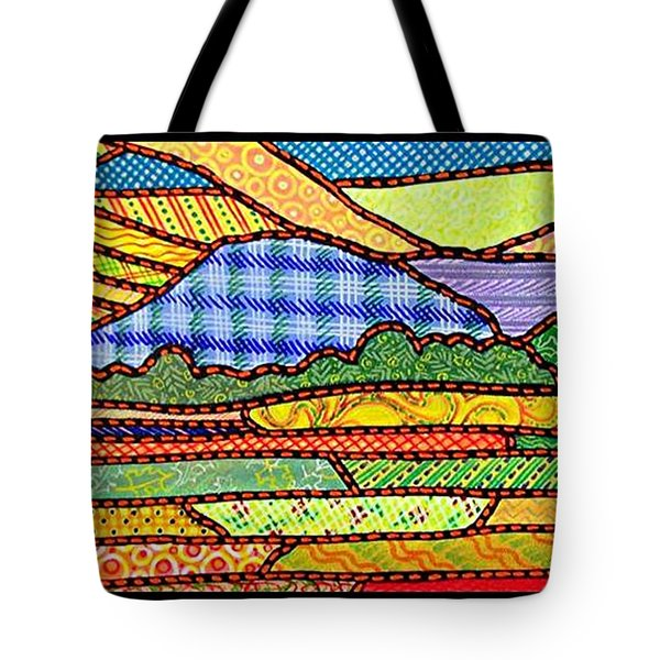 Quilted Massanutten Sunset Tote Bag by Jim Harris