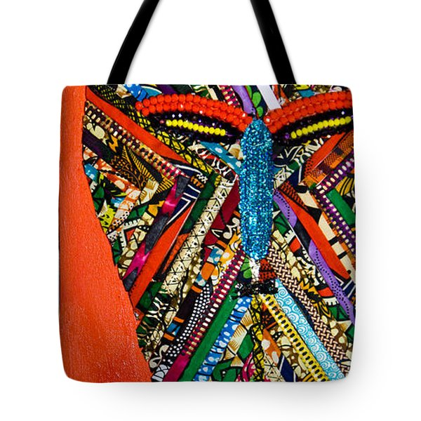 Quilted Warrior Tote Bag by Apanaki Temitayo M