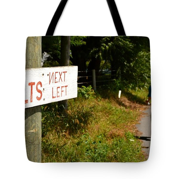 Quilts Next Left Tote Bag