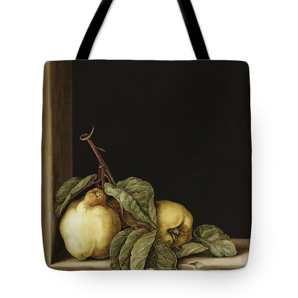 Quinces Tote Bag by Jenny Barron