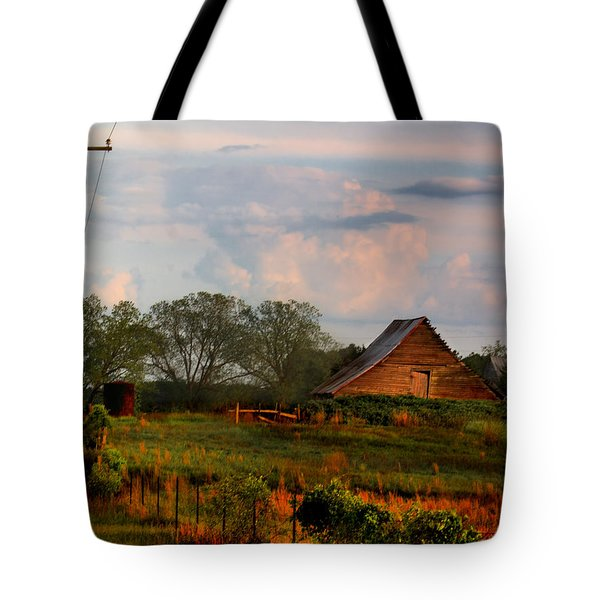 Tote Bag featuring the photograph Quintessentially  South Georgia by Laura Ragland