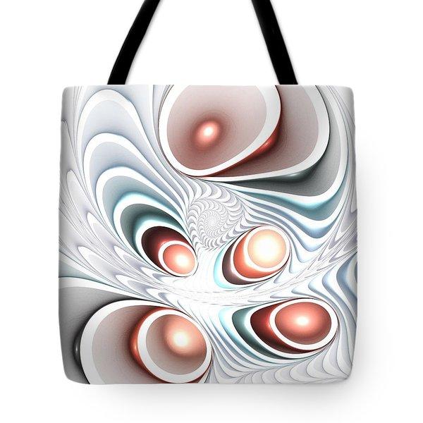 Quintet Tote Bag by Anastasiya Malakhova