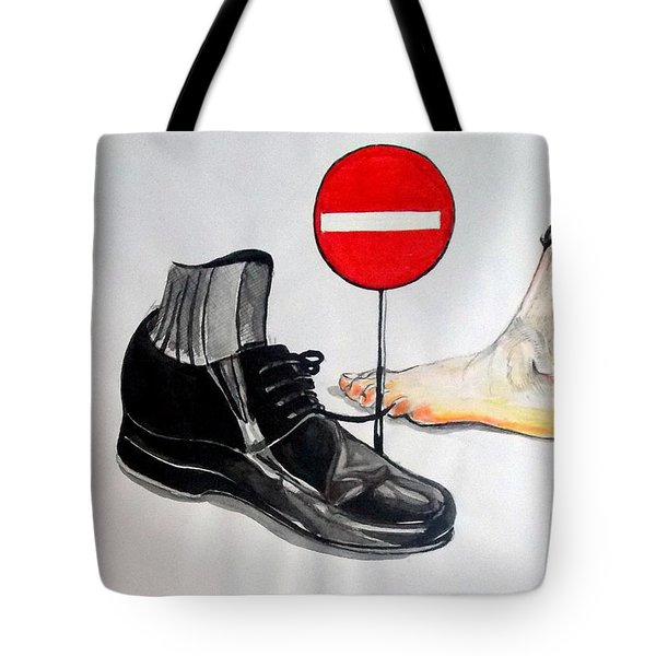 Tote Bag featuring the painting Quo Vadis by Lazaro Hurtado