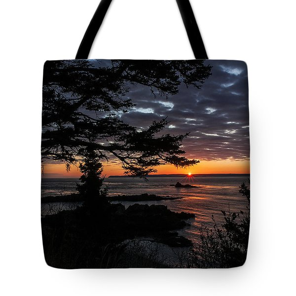 Quoddy Sunrise Tote Bag