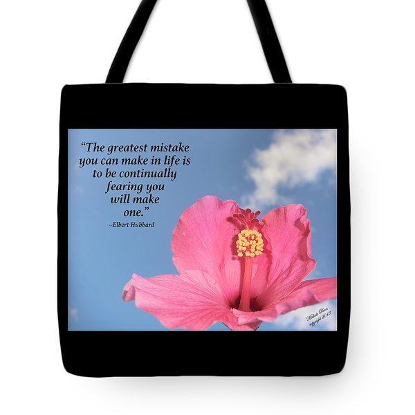 Quotes For The Soul Tote Bag