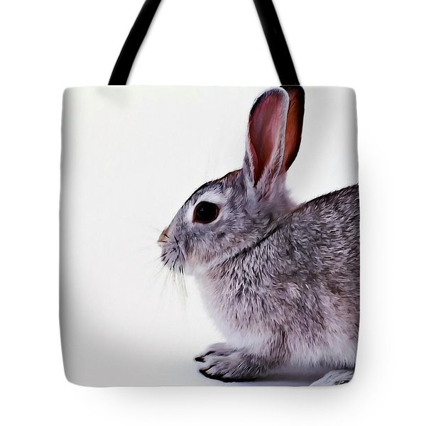 Rabbit 1 Tote Bag by Lanjee Chee