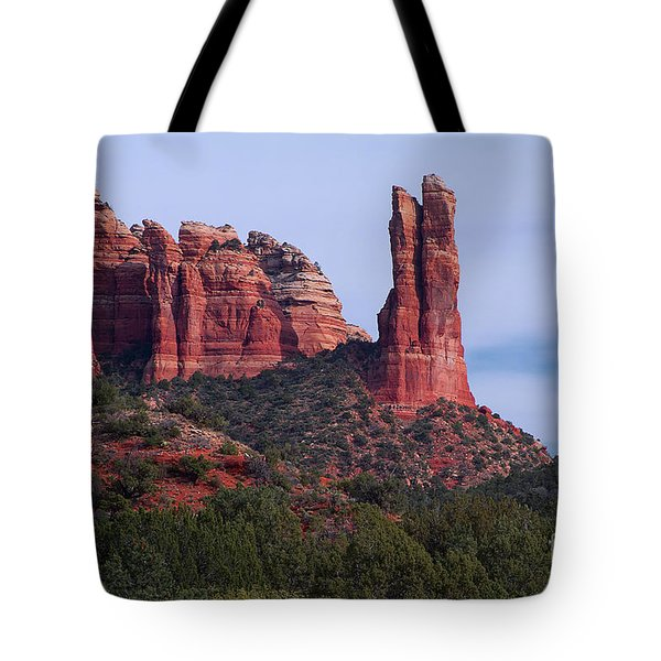 Rabbit Ear Rock Tote Bag