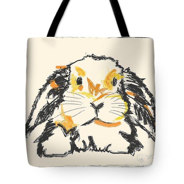 Rabbit Jon Tote Bag