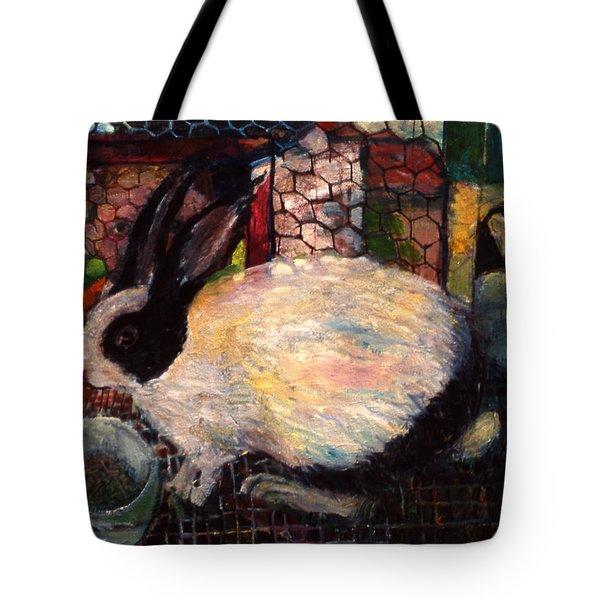 Rabbit Talk Tote Bag