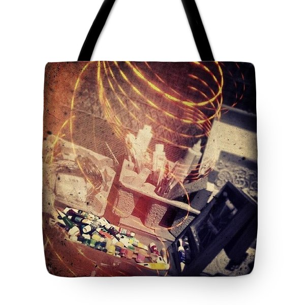 Rabbit Hole Tote Bag by Charlie Cliques