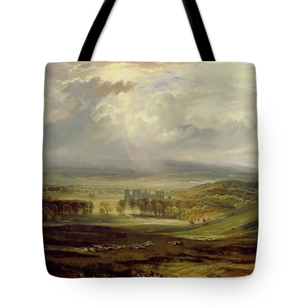 Raby Castle Tote Bag by Joseph Mallord William Turner