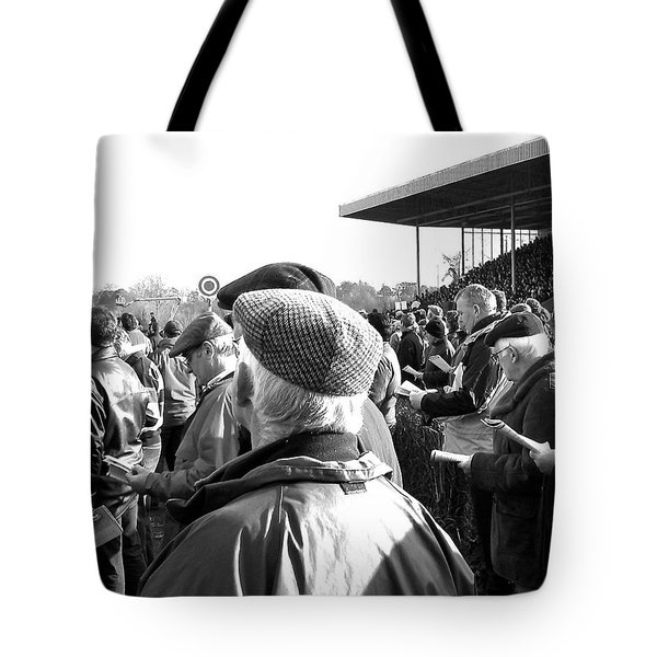 Race Day Tote Bag by Suzanne Oesterling