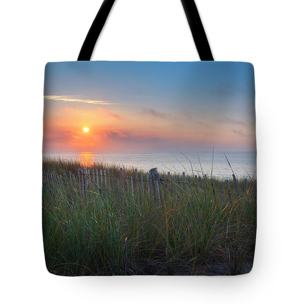 Race Point Sunset Tote Bag
