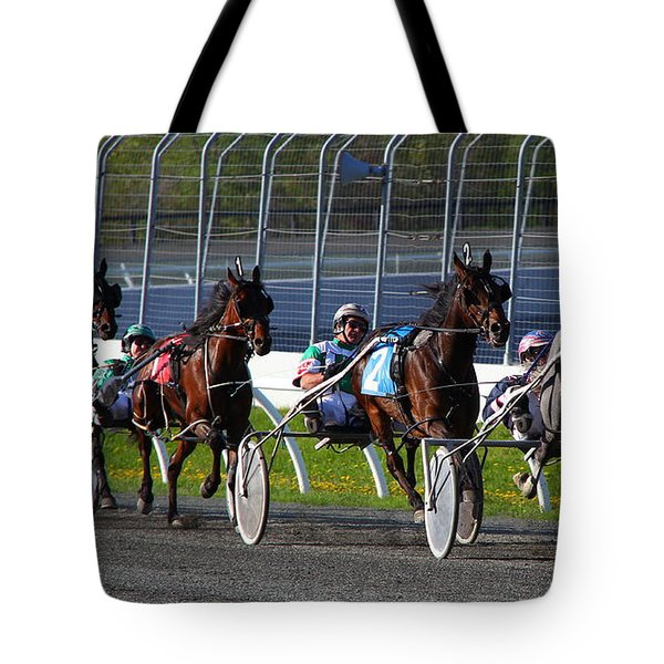 Race To The Finish Tote Bag
