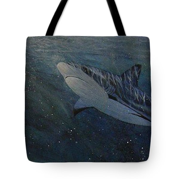 Race To The Surface Tote Bag by Edith Peterson-Watson