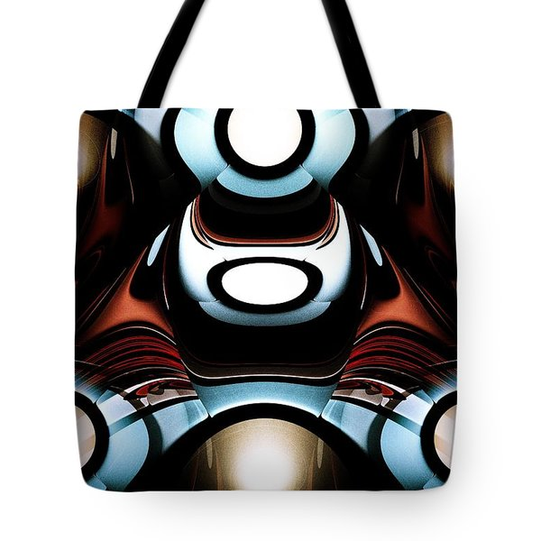 Racer Tote Bag by Anastasiya Malakhova