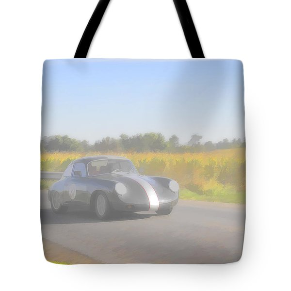 Racer Porsch 356 Tote Bag by Jack R Perry