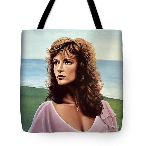 Rachel Ward Tote Bag
