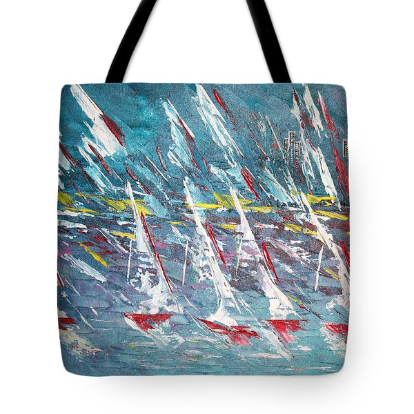 Racing To The Limits - Sold Tote Bag