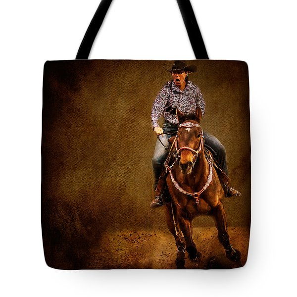Racing To Win Tote Bag