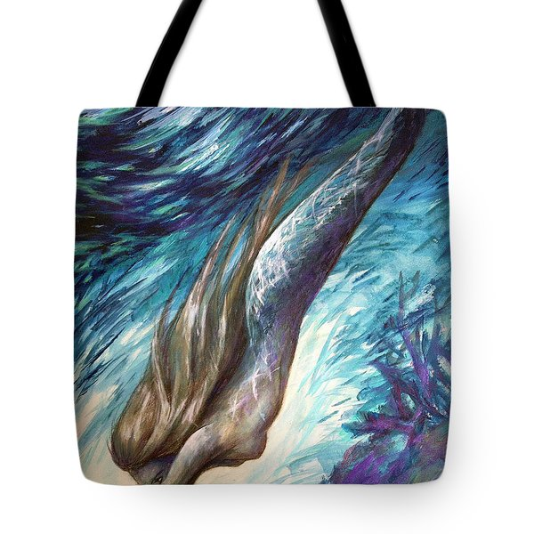 Racing Twilight Tote Bag